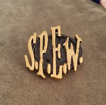 Harry Potter inspired S.P.E.W. Badge by ShakespearesWorkShop