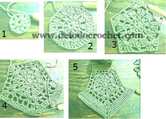 Como a tricotar cultura superior crochet