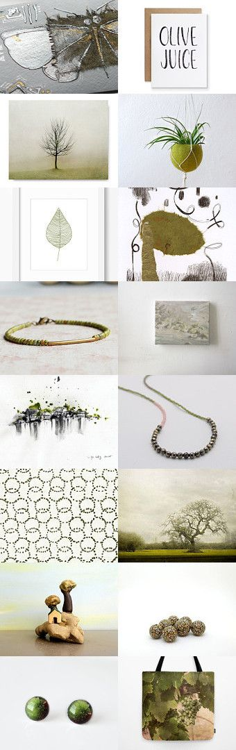 SiLveR OliVe by ••Bec•• on Etsy--Pinned with TreasuryPin.com