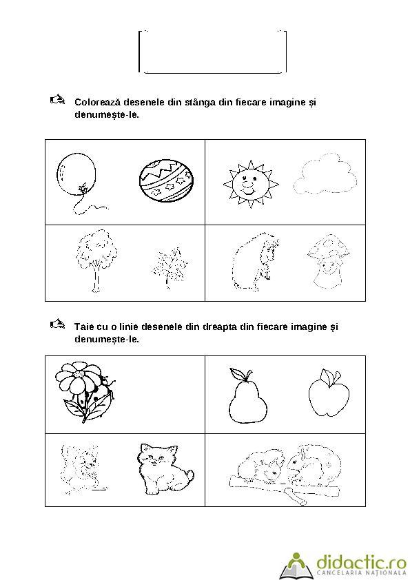 FISE CU CONTINUT MATEMATIC - GRUPA MARE | ileana61 | 14.10.2007