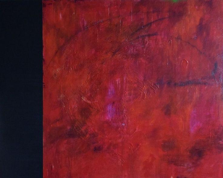 Joie de vivre Acrylic on canvas 48×60