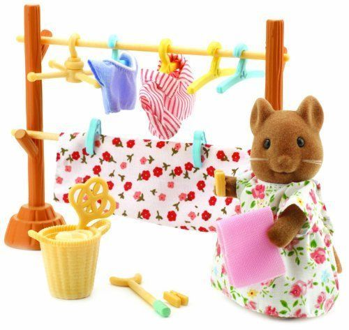 Sylvanian-Families-Washing-Day-Set