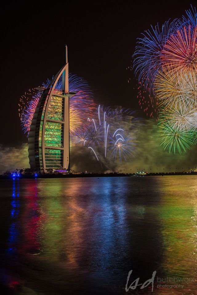 2014 New Year Dubai