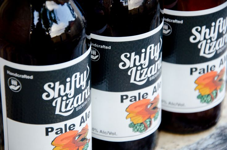 Pale ale from South Australian craft brewery Shifty Lizard Brewing Co.