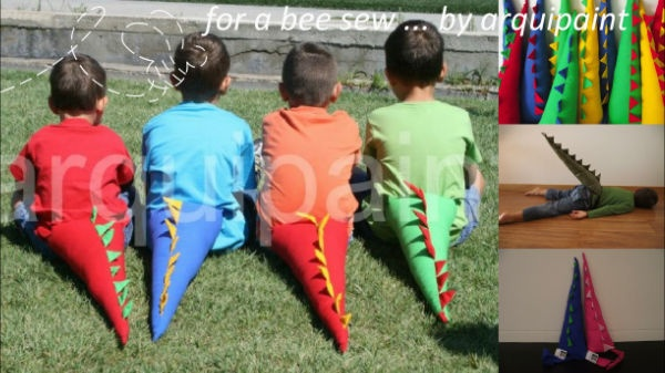 By arquipaint (www.arquipaint.pt)  Cauda de dinossauro | Dino Tail