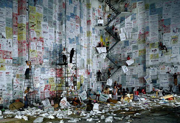 Wang Qingsong: When Worlds Collide   International Center of Photography