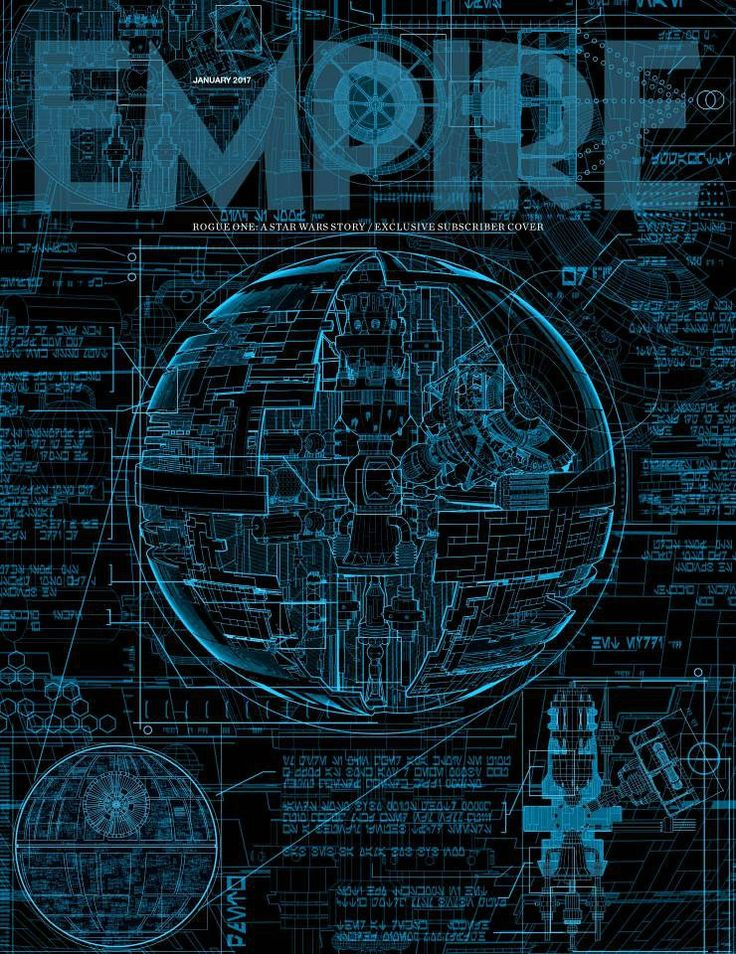 rogue one death star empire cover Star Wars: Rogue One Empire Cover Features the Death Star Plans