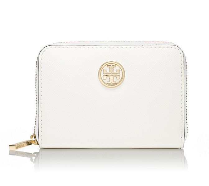 Tory Burch Robinson zip coin case: An easy, understated way to store your small goods