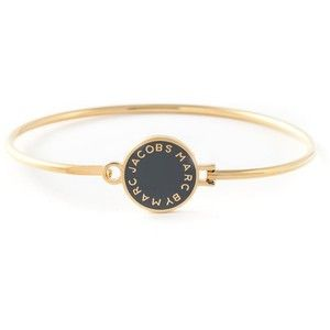 Marc By Marc Jacobs logo plaque bangle