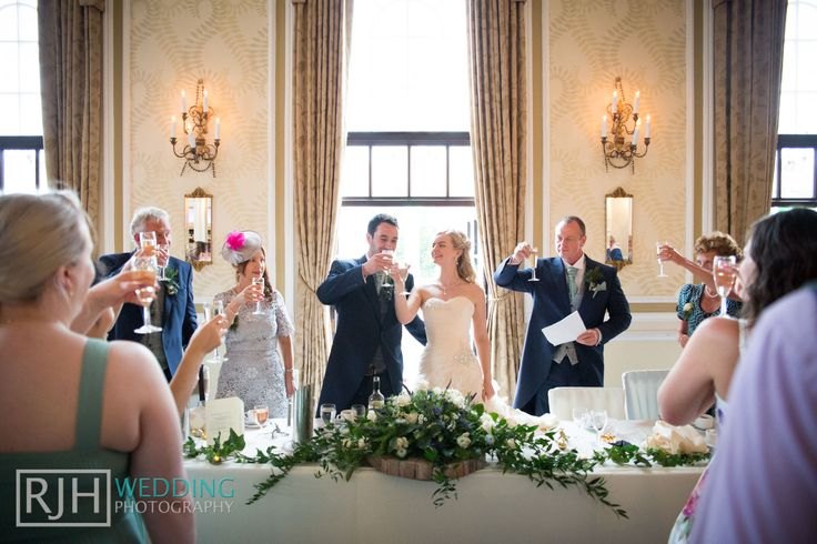 Ringwood Hall Hotel Wedding Photography - Ringwood Suite - Wedding Speeches - Wedding Cheers - Wedding Champagne - Wedding Toasts