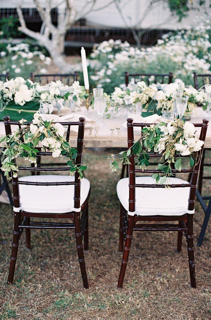 Hampton Event Hire // Walnut Tiffany Chairs / Long Wooden Dining Table // Servicing Byron Bay / Gold Coast / Brisbane