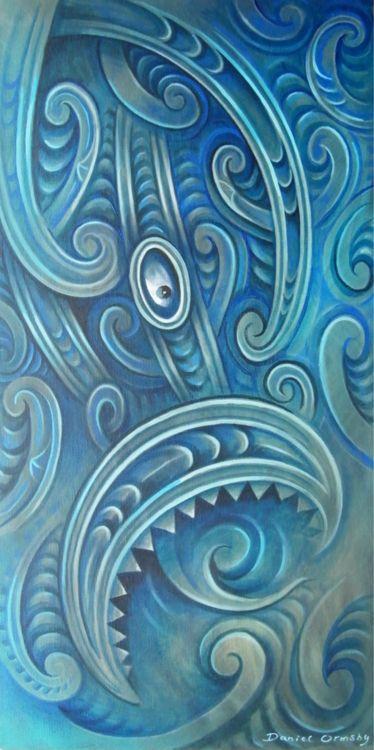 Maori Manaia - by Daniel Ormsby