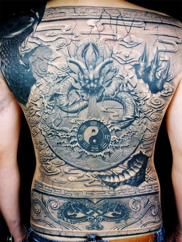 Tattoo Art by Yue Heng Back piece tattoo, Picture