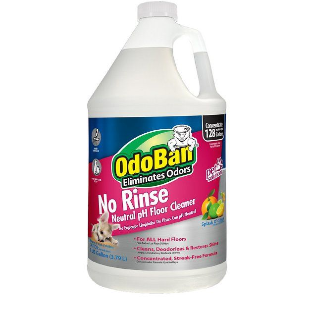 Buy Odoban No Rinse Neutral Ph Floor Cleaner Citrus Scent 1 Gal Bottle At Chewy Com Free Shipping And The Best In 2020 Odor Eliminator Carpet Cleaners Floor Cleaner