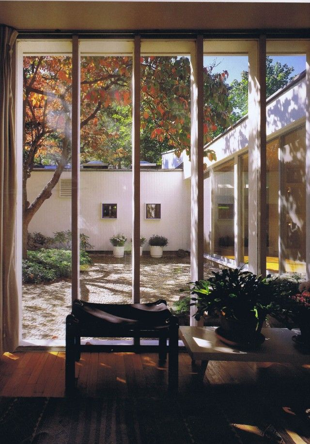 Josep Lluís Sert | Sert House In designing his own home, losep Lluís Sert sought to replace the suburban single-family dwelling with an urban courtyard house, adapted to a northern climate. Sert...