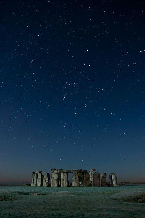 Orion over Stonehenge near Swindon England***