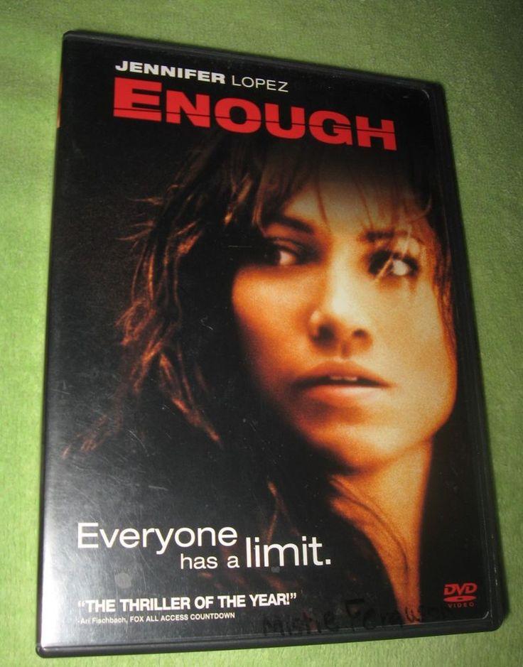 Enough DVD Jennifer Lopez, Billy Campbell, Tessa Allen, Juliette Lewis, Dan Fut