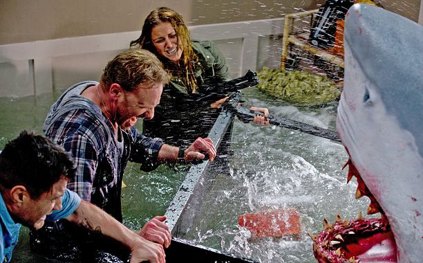 From Entertainment Weekly - 'Sharknado': Another Syfy disaster film gone horribly right