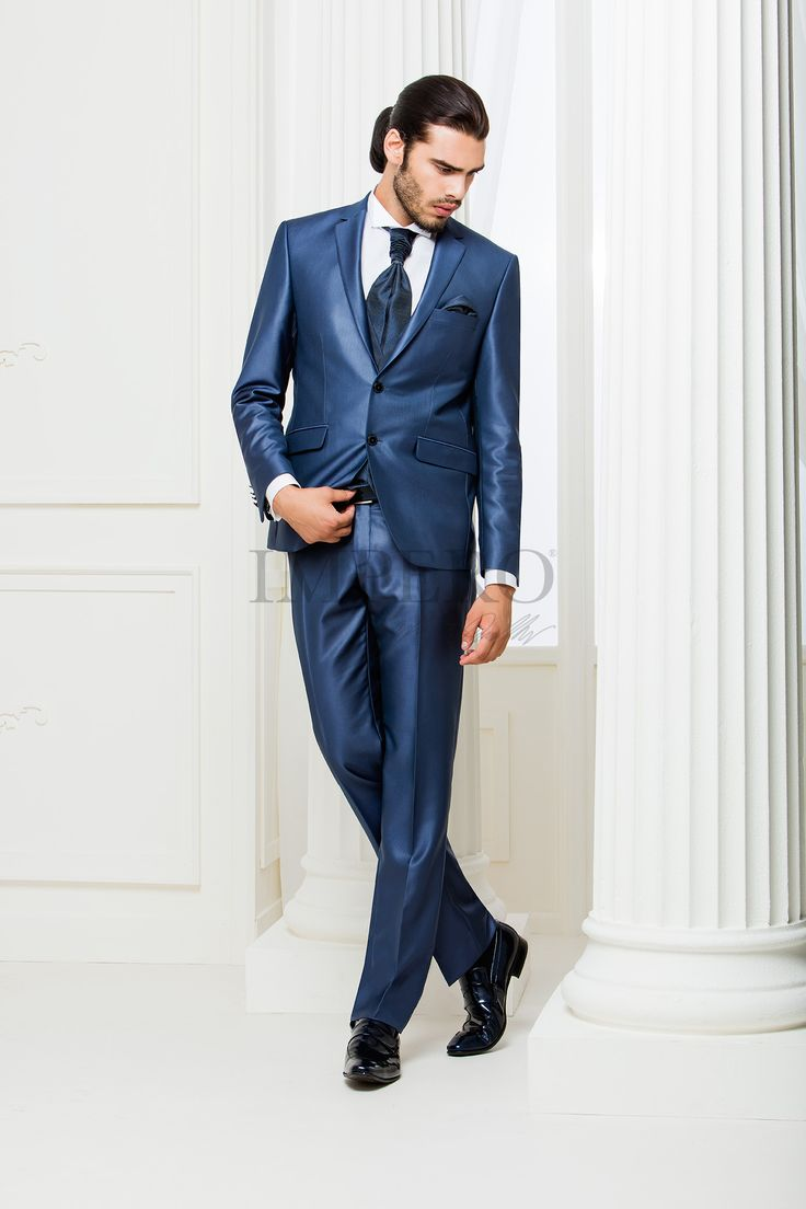 NO 4111-16 #sposo #groom #suit #abito #wedding #matrimonio #nozze #blu #blue