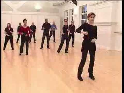 Salsa Basic Side Step - YouTube