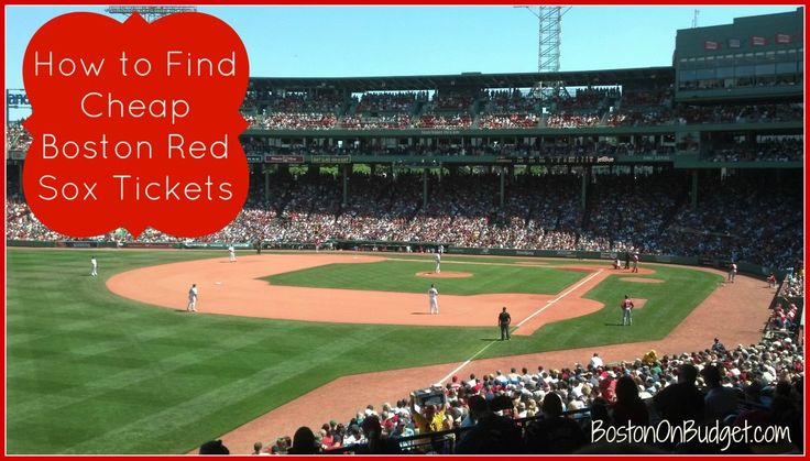 How to Save at Fenway Park: Find Cheap Red Sox Tickets | Boston on Budget
