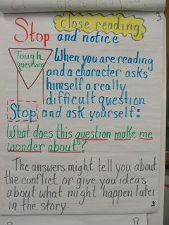 Reading Is Thinking: Notice and Note and Close Reading