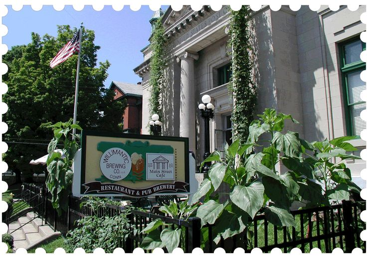 Willimantic Brewing Company - 967 Main Street - 2015 CTNow winner for Best American/Continental Restaurant, 1st runner-up for Best Outdoor Dining and Best Pub Food, as well as 2nd runner-up for Best Soup