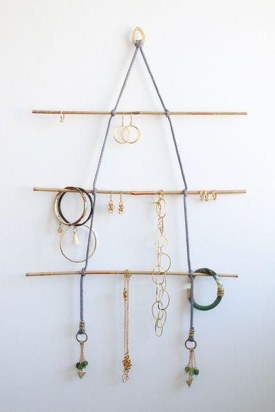 Présentoirs à bijoux, Kit DIY 'Nairobi': Portant à bijoux/ Seagreen est une…