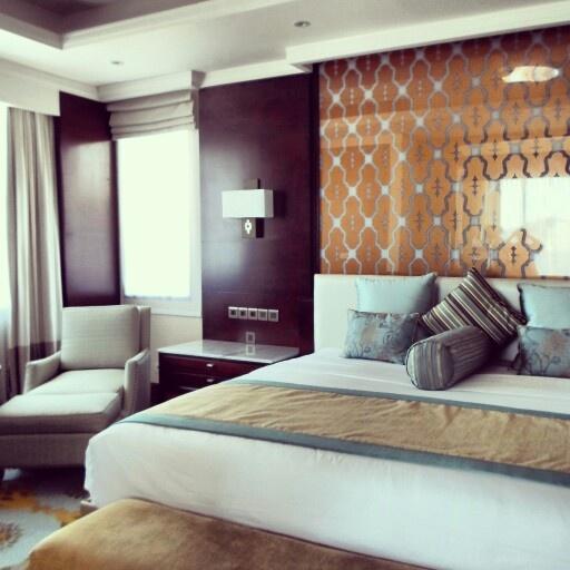 Master bedroom in a #luxury two-bedroom ocean pool villa #allinclusive #beach #travel www.samabe.com