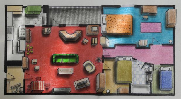 Tv Floor Plans Only Fools And Horses Del And Rodney S