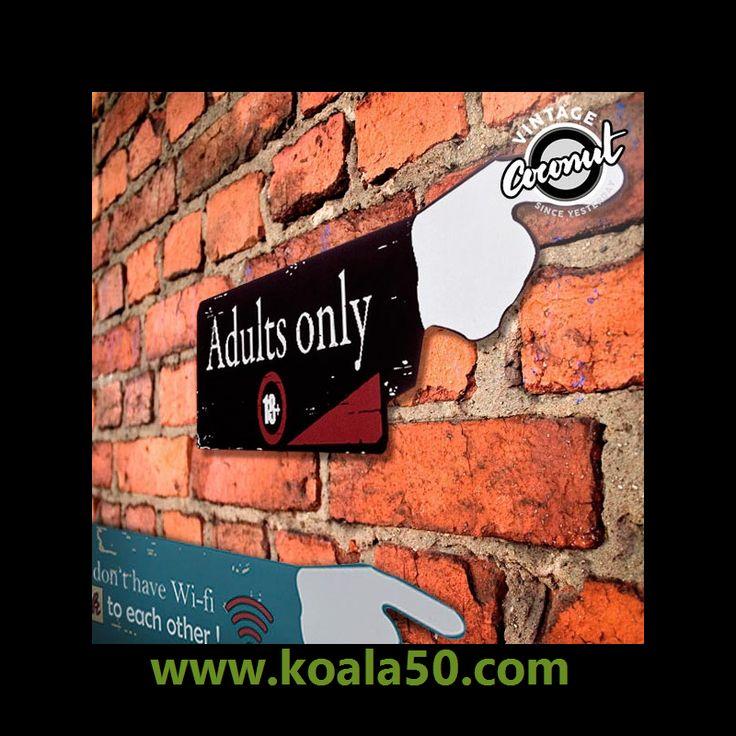 Dedo Indicador Look Vintage Coconut - 4,36 €   ¡Si buscas una decoración vintage original y divertida para tu casa, eldedo indicador Look Vintage Coconut te va a conquistar con su estilo y ocurrentes mensajes! Fabricado en madera. Medidas...  http://www.koala50.com/regalos-para-el-hogar/dedo-indicador-look-vintage-coconut