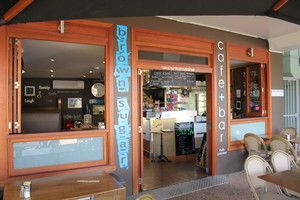 Brown Sugar Cafe & Bar at Victoria Point (east of Brisbane, Australia). Can get very busy, particularly on week-ends. The coffee is usually very good and the meals are good size.