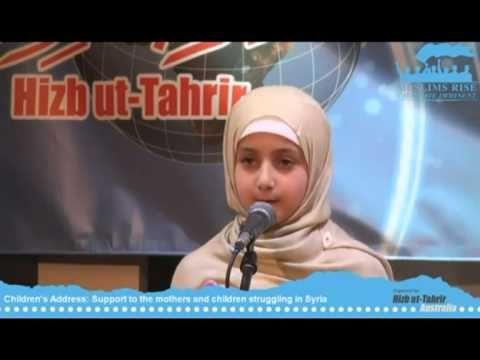 Orator Cilik Pejuang Islam Konferensi Khilafah Australia