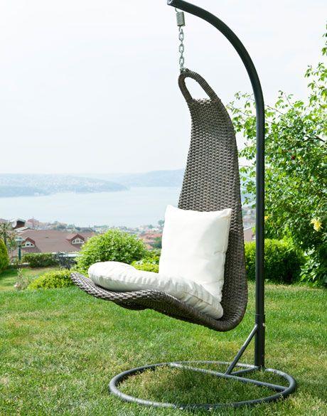 12 ideas para incluir sillas colgantes en casa