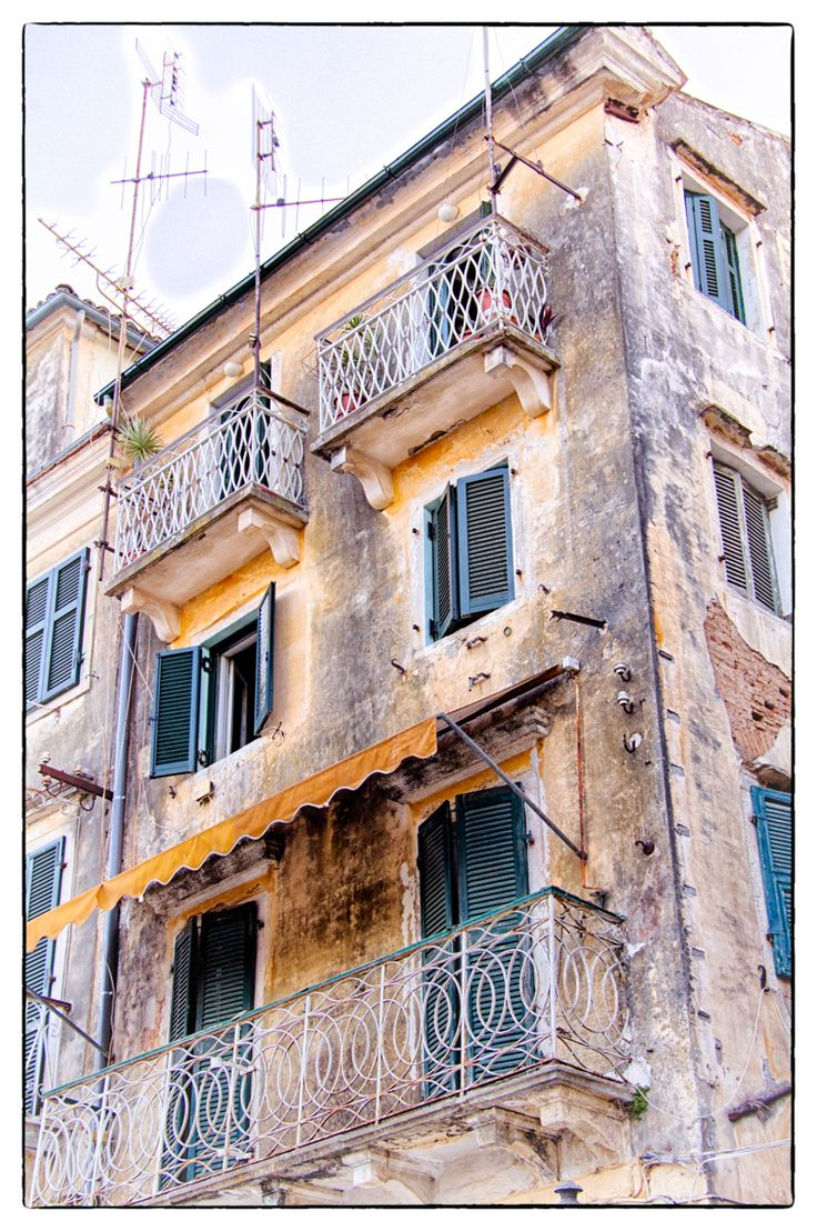Old building in Corfu town