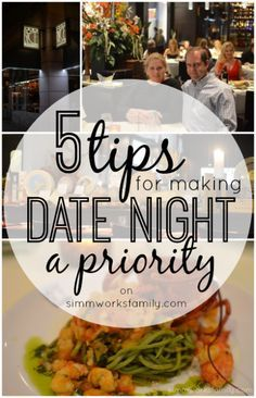 5 Tips for Making Date Night a Priority