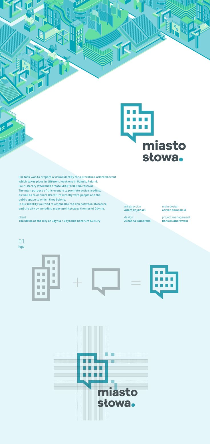 miasto słowa festival / branding on Behance