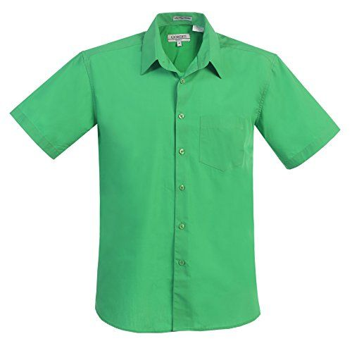 Gioberti Men's Short Sleeve Solid Dress Shirt, Green, L G... https://www.amazon.com/dp/B01L0R5N5I/ref=cm_sw_r_pi_dp_x_s.fRybK21BMJR