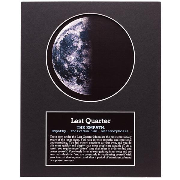 Last Quarter Moon Art Moon Art Moon Phases Art Moon Phases