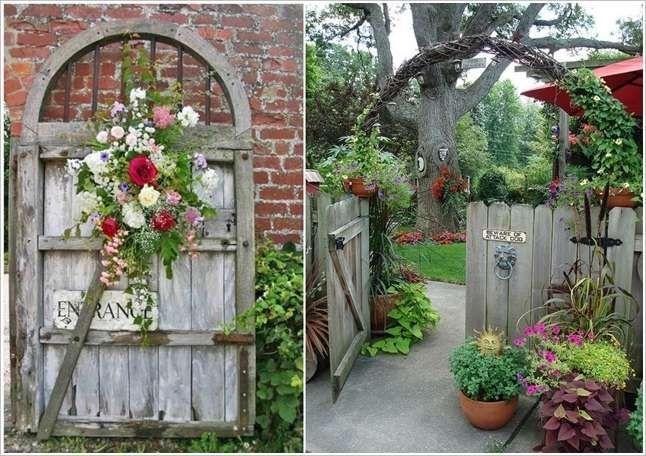 86 best vegetable garden ideas images on pinterest for Rustic garden gate designs