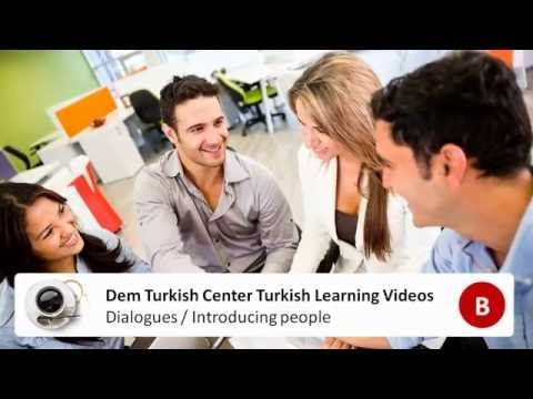 #Learn #TurkishLanguage with basic #TurkishLearning questions - Introducing other people in #Turkish