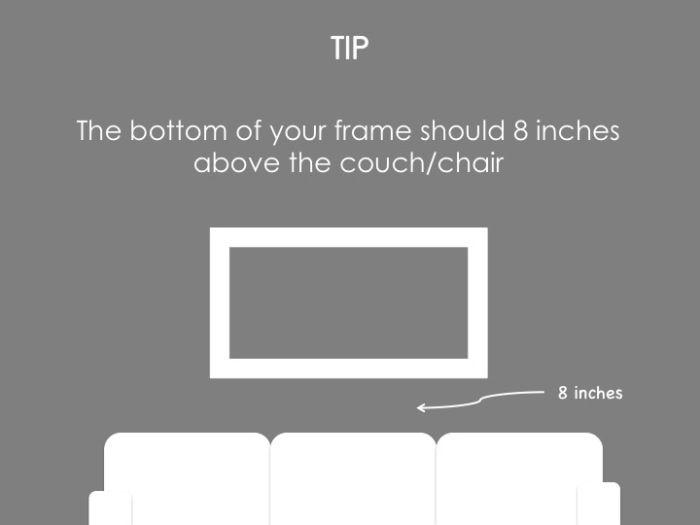 Framing Tips by framed & matted