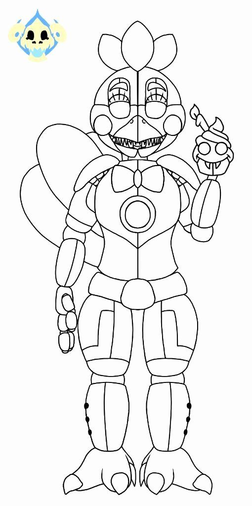 Funtime Freddy Coloring Page Elegant Funtime Freddy ...