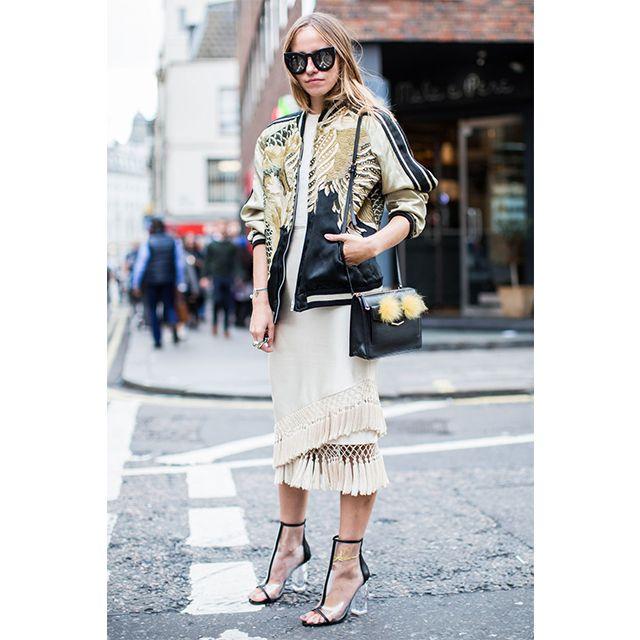 London Fashion Week SS17: Day 1 Street Style