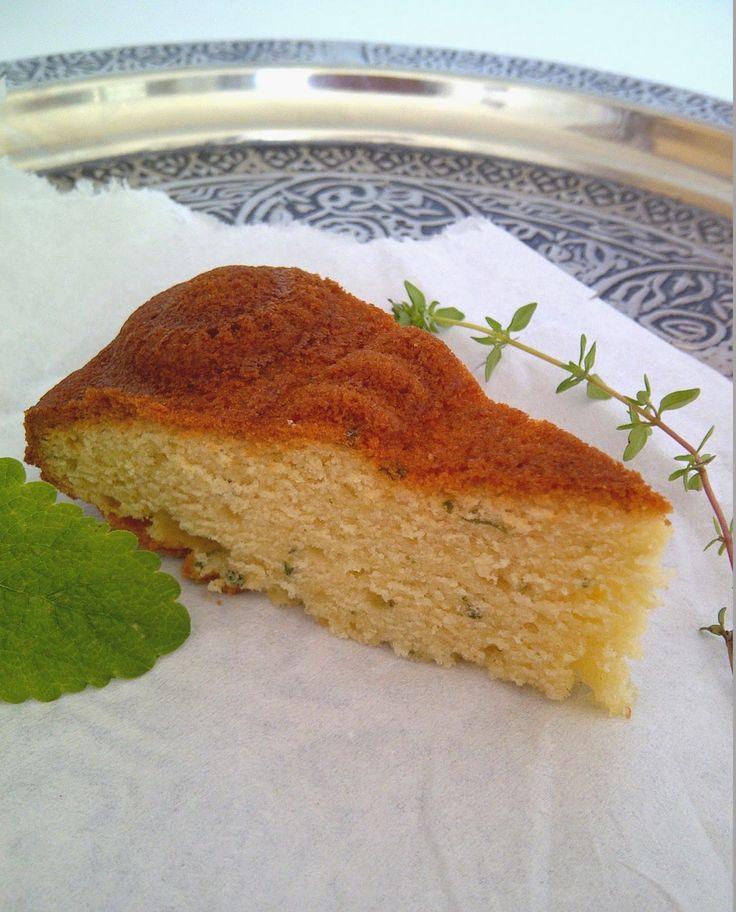 Oesters en Uien : Citroenmelisse & tijmcake