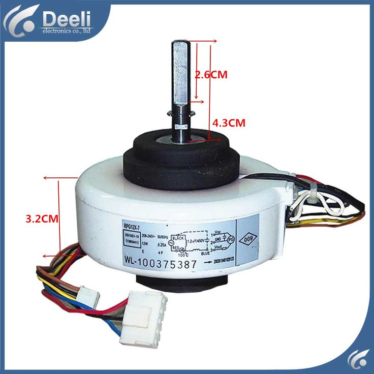 new good working for TCL Air conditioner inner machine motor RPG12X-7 Motor fan