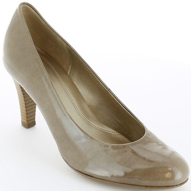 Pantofi cu toc Gabor din piele.