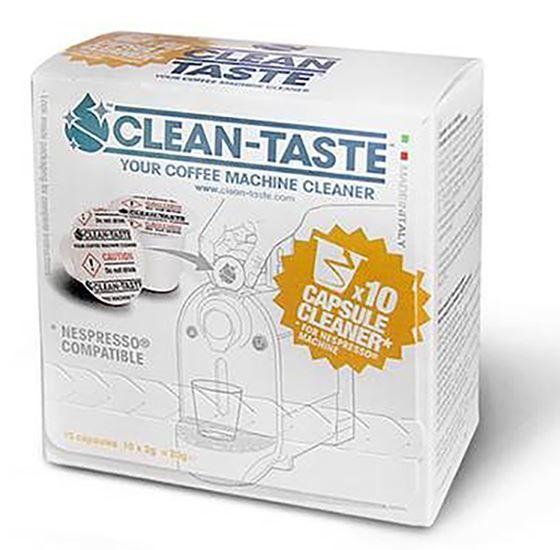 Solute Clean Taste Capsules  Solute cleaning capsules Het geheim van de perfecte (N)espresso. De reinigingsformule in de capsules is veilig en speciaal ontwikkeld voor Solute. Met de unieke reinigingscapsules van Solute reinig je het binnenwerk en de uitloop jouw Nespresso machine.In het Nespresso apparaat blijft na het zetten van de koffie residuen als koffievetten tannine en kleine korreltjes koffie achter. Deze restanten beïnvloeden de smaak van de koffie. Tevens blijven door het gebruik…