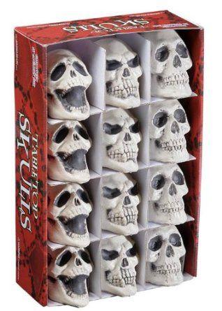 halloween party decoration small prop skull struts 11040 amazonco