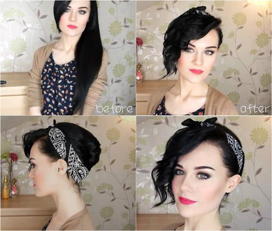 Brilliant Headband And Hair Extensions For Short Hair Can Make Perfect Hairstyle Inspiration Daily Dogsangcom